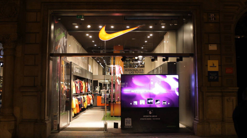 Escaparate interactivo NIKE