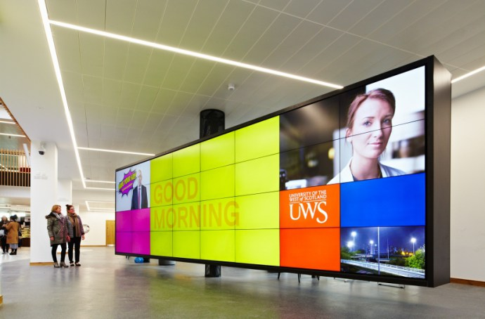 Videowall universidad