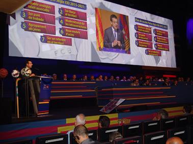Congrés de Penyes del FCB