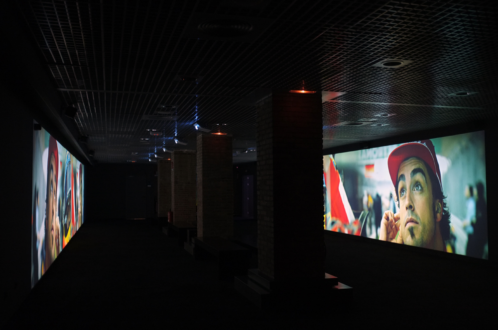 Audiovisual installations for exhibitions
