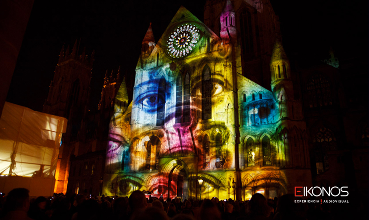 Video mapping audiovisual