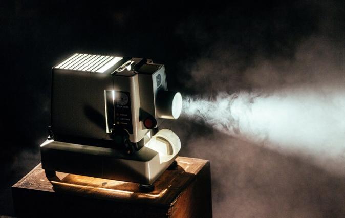 EIKONOS historia del proyector de vídeo