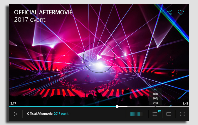 aftermovie de un evento