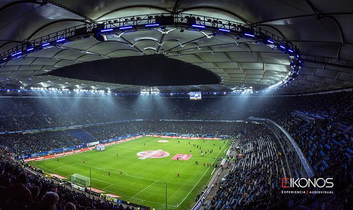 pantallas gigantes para ver mundial
